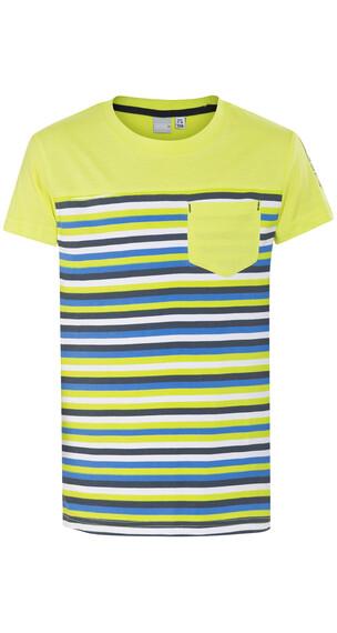 Icepeak Tatu Jr Kortærmet T-shirt Børn gul/farverig